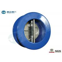 Buy cheap Dual Plate Check Valve , Cast Iron Wafer Type Non Return Valve PN 10 from wholesalers