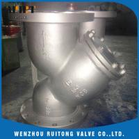 Wholesale a216 wcb cast steel Y type flange strainer 150lb 300lb price from china suppliers