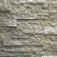 Buy cheap White Grey Granite Stacked Stone Natural Flat Style Oem For Ledge Panel from wholesalers