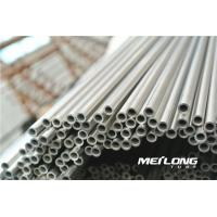 Buy cheap Stainless Steel 2507 Seamless Alloy Tube , SS Seamless Pipe Length 6000mm / 6100mm from wholesalers
