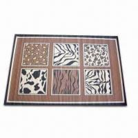 Buy cheap Natural and Carbonized Bamboo Rug, Available in Various Sizes, OEM Orders are product