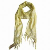 Buy cheap Cashmere-like Scarf, Customized Specifications are Accepted, Measuring 2.19 x 5.9 + 0.26 Inches x 2 from wholesalers