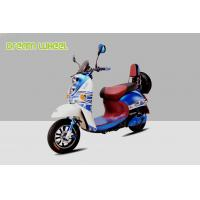 Buy cheap Pedal Assisted Scooter 500W 60V Dc Hub Motor , Two Wheeled Moped Electric Scooter from wholesalers