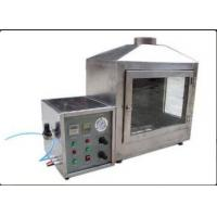 Buy cheap Stainless Steel Building Material Flammability Testing Equipment Ignitability Test Single Flame Source from wholesalers