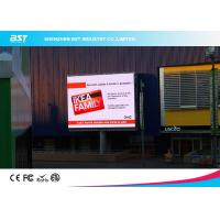 Buy cheap 1/4 scan P10 1R1G1B Outdoor Advertising LED Display For Airport / Hotel  with 160X160mm Module from wholesalers