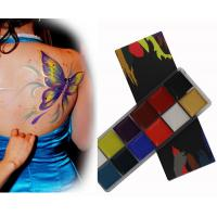 Buy cheap Pigmented Cosmetic Face And Body Paint Oil Based Makeup With 12 Colors from wholesalers