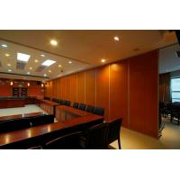 Buy cheap Height 4m Sliding Door Hanging Rollers Movable Partition Walls For Restaurant / Churches from wholesalers