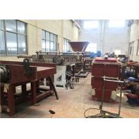 Buy cheap Waste Plastic Auxiliary Machine Non Woven Fabric Nylon Jute Fiber Cutting from wholesalers