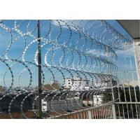 Buy cheap Single Concertina Razor Barbed Wire Use For Security Fencing CBT - 65 BTO - 22 from wholesalers