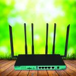 Buy cheap 5G 1200Mbps Gigabit Wireless Router MT7621A M.2 Interface Hot In USA from wholesalers