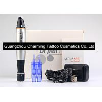 Wholesale Black And Silver Dr Pen Auto Microneedle System Machine Electric Vibrating Pen from china suppliers