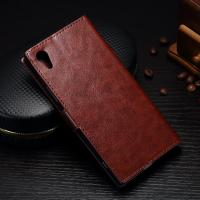 Buy cheap Shock Resistant Sony Xperia Leather Case For XA1 Colorful Soft Three Cards Slot from wholesalers