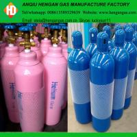 High purity 99.999% helium gas in 40L 50L high pressure gas cylinder Manufactures