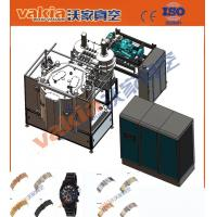 PVD Brushed Black Thin Film Coating Equipment For Watch Cases Touch Screen + PLC Manufactures