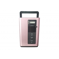 Buy cheap Portable Solar power generator 300W Pink Color for Camping home outside emergency power supply from wholesalers