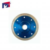 Buy cheap Smooth Diamond Saw Blades , Cutting And Grinding Ceramic Tile Saw Blades from wholesalers