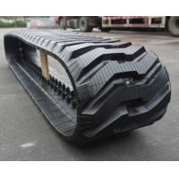 Buy cheap High Tractive Force Bobcat T750 Skid Steer Rubber Tracks 450x86BLx55 with Good Wear Resistance and Tear Resistance from wholesalers