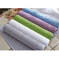 Buy cheap Customized 16S/32S White Bathroom Rugs And Mats Hotel Floor Mats from wholesalers