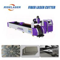 Buy cheap 1.5KW Metal Tube Fiber Laser Cutting Machine for Round Tube, Square Tube RL-T3015-1500 from wholesalers