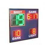 Buy cheap Economy Model Led Basketball Scoreboard , Live Basketball Scoreboard With Shot Clock from wholesalers