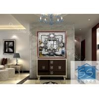 Buy cheap Float Decorative Bathroom Window Glass Custom Size Spell Mirror Pattern from wholesalers