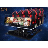 Buy cheap Professional Entertaining 5d Mobile Cinema Vibration Seats For Theme Park from wholesalers