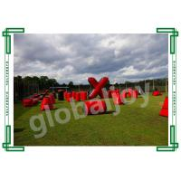 Buy cheap Inflatable Paint Ball Bunkers / Air  Obstacle Course / Paintball Games from wholesalers