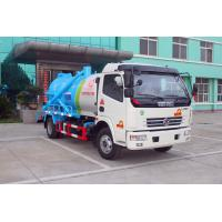 Buy cheap Sewage pump truck / Special Purpose Truck with 3000L tank volumn 120HP Engine from wholesalers