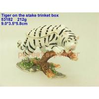 Buy cheap Tiger on the stake trinket box from wholesalers