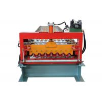 Buy cheap Fully Automatic Corrugated Sheet Making Machine , 13 Rows Corrugated Metal Roofing Machine from wholesalers