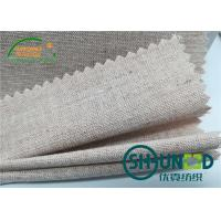 Wholesale Chest Canvas Horse Hair Interlining With Good Elasticity Woven Technology from china suppliers