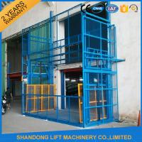 Buy cheap 5m Vertical Hydrualic Platform Lift  for Warehouse Cargo Lifting 3 ton Lifting Capacity from wholesalers