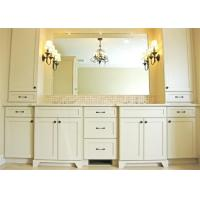 China Villa Customized Free Standing Bathroom Vanity Cabinets , Painted 5 Times For Scratch Proof on sale