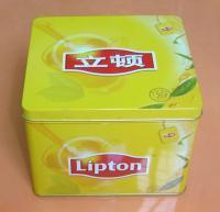 Buy cheap Tea Tin Box,Square Tin Can from wholesalers