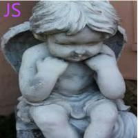 Buy cheap White Marble Angel Statue Sculpture for Memorial Decoration from wholesalers