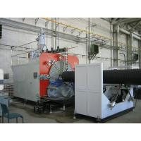 Buy cheap High Precision HDPE Pipe Extruder Machine PLC Control , Pipe Extruding Machine from wholesalers