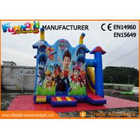 Wholesale Commercial Jumping Castle Inflatable Bouncer Slide / Paw Patrol Bounce House from china suppliers