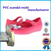 Wholesale Comfortable Soft Plastic Shoe Molding Beautiful Appearance Footwear Mold from china suppliers