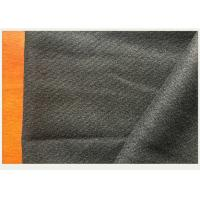 China Soft Luster Gray 100% Twill Wool Fabric 740 Gram Per Meter Thick Winter Long Coat on sale