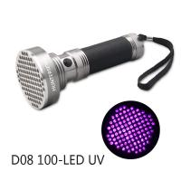 Buy cheap 100 Lamps 395NM UV flashlight for Glow Stone Product/Urine Detector from wholesalers