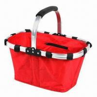 Buy cheap Utility Basket, Measures 43 x 27.5 x 22.5cm, Foldable and Easy-to-carry from wholesalers