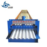 Buy cheap Metal Roofing Sheet Corrugated Roll Forming Machine , Steel Profile Making Machine from wholesalers