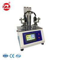 Buy cheap PLC Touch Screen Wearing Headphone Torsion Testing Machine With Stepping Motor Servo from wholesalers