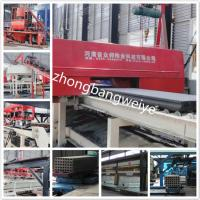 Buy cheap hot selling JQT fully automatic Precast concrete hollow core panel production line process from wholesalers