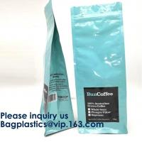 Buy cheap Reusable Side Gusset Coffee Bag Inside Aluminum Foil Coffee Packing With Valve,Aluminum Foil Vacuum Packing Bag, Zipper from wholesalers