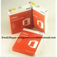 Buy cheap 32 / 64 Bit Office 2016 Pro Plus Retail For Global Area Full Functions from wholesalers