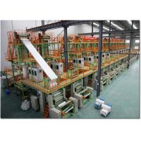 Buy cheap Automatic Wall Stone Paper Making Machine With Single Screw Extruder 220V/380V/440V/3P from wholesalers