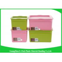 Wholesale Customized Hard Clear Plastic Storage Box with Logo Eco - Friendly from china suppliers