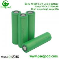 Buy cheap Sony VTC4 VTC5 VTC6 2100mAh 2600mAh 3100mAh 30A Max 60A  high amp battery for vape/Electronic cigarette power tools from wholesalers