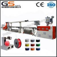 Buy cheap hot sale ABS PLA material 3d printer filament extruder machine from wholesalers